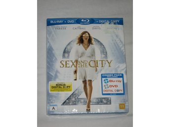 Sex and the City 2 - Combo pack (Blu-ray+DVD+Digital Copy). Ny och inplastad!