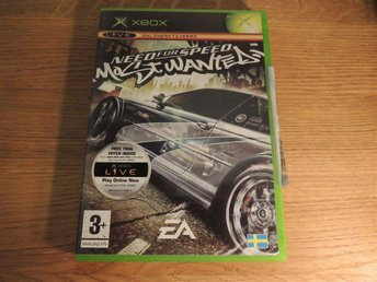 Need For Speed (NFS)- Most Wanted - [XBOX / First Gen / Första]