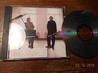 SUSANNA LINDEBORG/OVE JOHANSSON DUO - Bright openings, CD LJ Records 1991