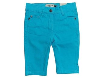 Fransa Kids girls, Jeansshorts i turkos 92 cl