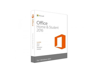 Microsoft Office 2016 Home and Student (SE) Licens Nyckel