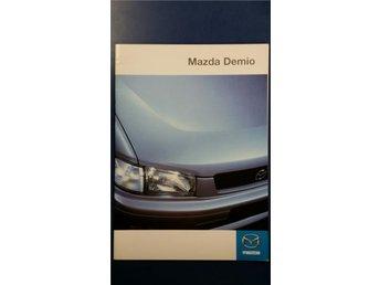 Mazda Demio 1999 - broschyr - Uppsala - Mazda Demio 1999 - broschyr - Uppsala