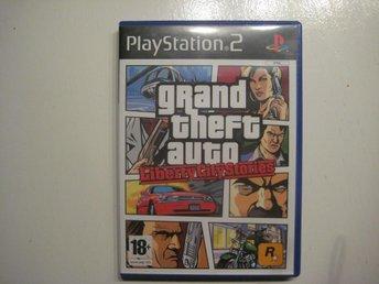 GTA Grand theft Auto Liberty city stories *med kartan! - PS2 - åhus - GTA Grand theft Auto Liberty city stories *med kartan! - PS2 - åhus