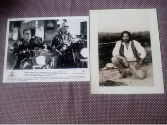 HARLEY DAVIDSSON and THE MARLBORO MAN KULTFILM LOBBY CARD 2 ST KORT PRIS 135 KR