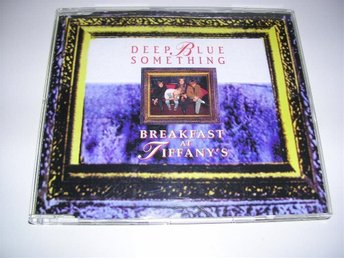 DEEP BLUE SOMETHING - breakfast at tiffany's + CRASH TEST DUMMIES - mmm mmm (cd)