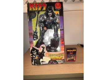Kiss - Gene Simmons dstr figurine sealed Stor !!