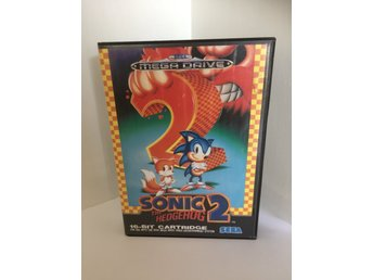 Sega Mega Drive Sonic 2 The Hedgehog