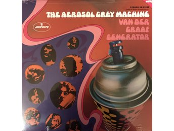 VAN DEER GRAAF GENERATOR - THE AEROSOL GREY MACHINE NY LP