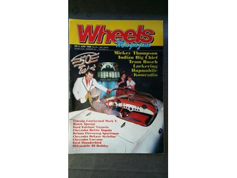 Wheels nr 6 1988: Indian Big Chief, Chevrolet 1951, Continental Mark V 1958-1960
