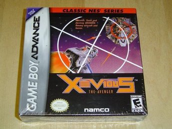 XEVIOUS NINTENDO GAME BOY ADVANCE *NYTT*