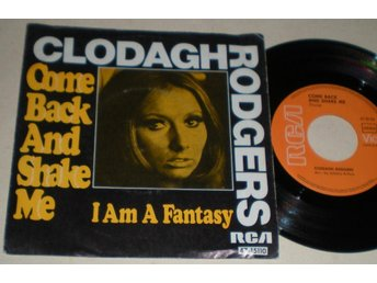 Clodagh Rodgers 45/PS Come back and shake me 1969