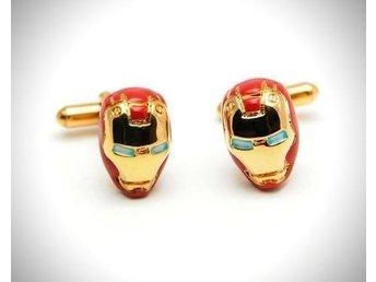 Iron Man Manschettknappar - Nya !! - V.frölunda - Iron Man Manschettknappar - Nya !! - V.frölunda