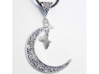 Afrika måne halsband / Africa moon necklace - Skellefteå - Afrika måne halsband / Africa moon necklace - Skellefteå
