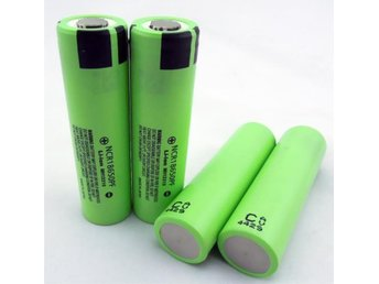 8x ORIGINAL PANASONIC Li-Ion batterier NCR18650P typ 18650 High drain 10A - Oskarshamn - 8x ORIGINAL PANASONIC Li-Ion batterier NCR18650P typ 18650 High drain 10A - Oskarshamn