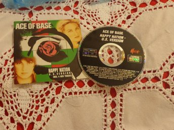 CD MED ACE OF BACE HAPPY NATION - US VERSION....MYCKET FINT SKICK !