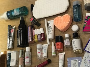 STORT sminkpaket. Lancome, NYX, Clinique, Too Faced, Tomas Roth, Rituals m.m.
