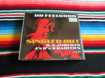 DR. FEELGOOD - SINGLED OUT A'S B'S & RARITIES  CD BOX 2001, ROCK