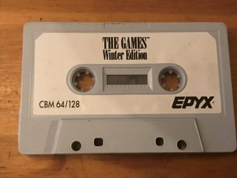 "The Games ""Winter Edition"" CBM 64/128  C64"