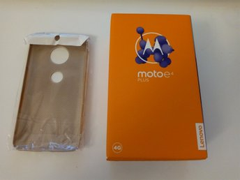 Motorola Moto E4 Plus, 2 Chargers, Back Cover, Dual Sim-Card ( Used )