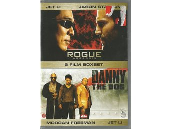 ROGUE ASSASSIN + DANNY THE DOG - JET LI , JASON STATHAM (INPLASTAT- SVENSK TEXT)