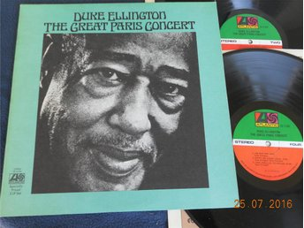 DUKE ELLINGTON - The great Paris Concert, LP Atlantic USA 1973