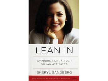 Lean in, Sheryl Sandberg