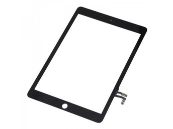 iPad Air 2 Digitizer Skärm Glas Framglas Touch Display Glas Replacement Svart