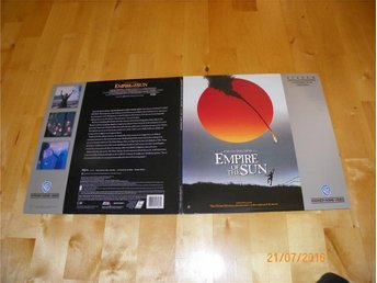 Empire of the sun - Steven Spielberg - 2 st Laserdisc