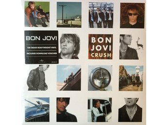 BON JOVI - CRUSH 2-LP 180G + DOWNLOAD GATEFOLD