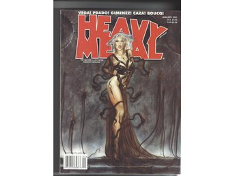 Heavy Metal Januari 2001 skick vf