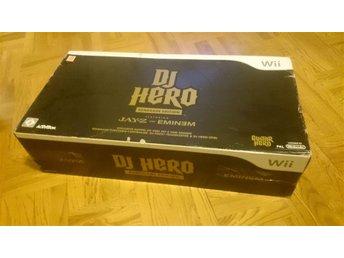 DJ Hero Renegade Edition (inkl. DJ-bord, samt special-CD, förvaringsväska - nytt - Göteborg - DJ Hero Renegade Edition (inkl. DJ-bord, samt special-CD, förvaringsväska - nytt - Göteborg