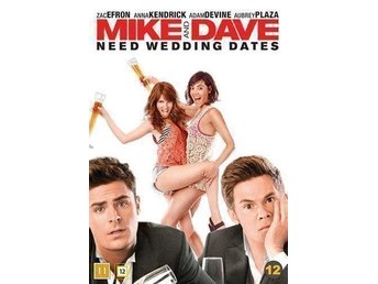 Mike & Dave need wedding dates dvd inplastad