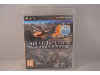 Air Conflicts, Secret Wars - Playstation 3 - Järfälla - Air Conflicts, Secret Wars - Playstation 3 - Järfälla
