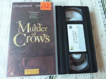 A MURDER OF CROWS,  VHS, THRILLER, FILM