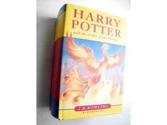 HARRY POTTER AND THE ORDER OF THE PHOENIX J.K. Rowling 2003