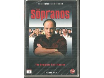 ** THE SOPRANOS episod 1-3  ( OÖPPNAD )  **