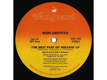"Roni Griffith – (The best part of) Breakin´ up (Vanguard 12"")"