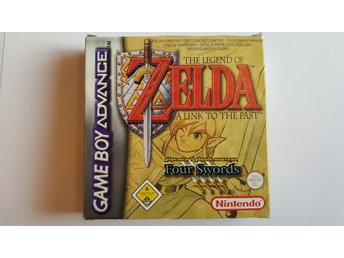 The Legend of Zelda - A Link to the Past + Four Swords  (pal gba)