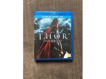 Blu-Ray 3D - Thor Limited Edition 2 Disc - Nyskick, fynd!