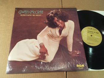 GWEN McCRAE something so right LP -76 Can RCA DXL1-4033