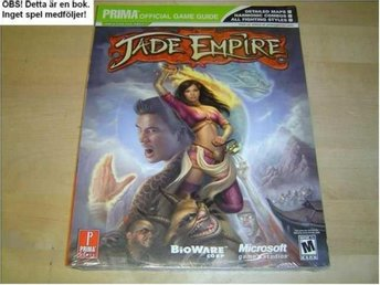 GUIDE WALKTHROUGH TILL JADE EMPIRE MICROSOFT XBOX *NYTT*