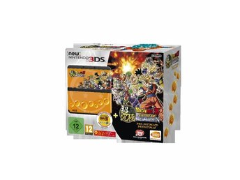 New 3DS Black + Dragonball Z: Extreme Budoten + Faceplate (Lim. Edition)