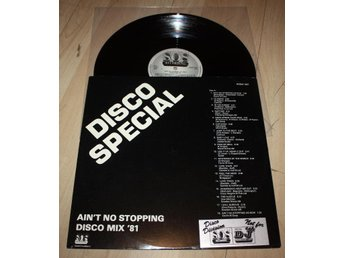 DISCO SPECIAL Aint No Stopping 40 st Disco Mix Classics SOS