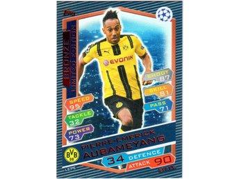 2016-17 Topps Champions League P-E Aubameyang Borussia Dortmund Bronze LE - Linghem - 2016-17 Topps Champions League P-E Aubameyang Borussia Dortmund Bronze LE - Linghem