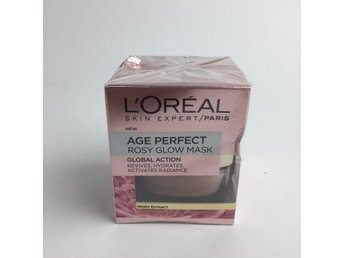 L'Oreal Paris, Ansiktsmask, Age Perfect Rosy Glow, 50 ml