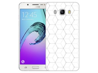 Samsung Galaxy J5 (2016) Skal Hexagon Mönster