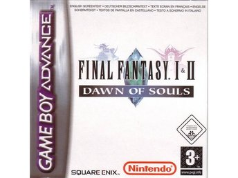 Final Fantasy I & II: Dawn of Souls - Gameboy Advance