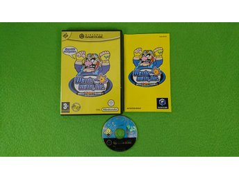 Wario Ware Inc Mega Party Game KOMPLETT Gamecube Nintendo