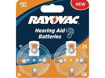 Rayovac Zink-Air Battery PR48 1.4 V 8-Blister
