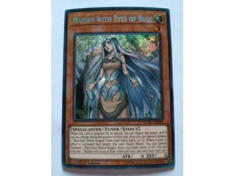 Yu gi oh maiden with eyes of blue, SECRET RARE.